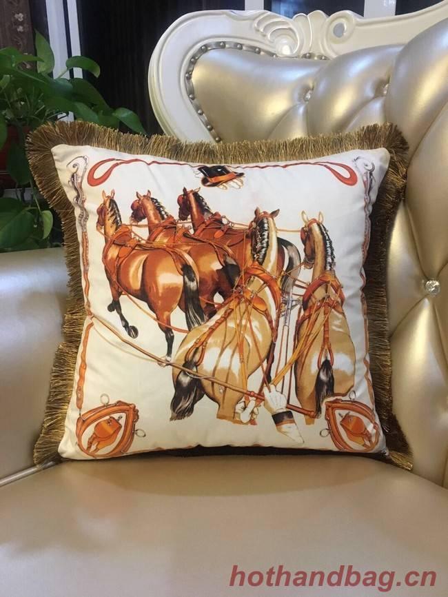 Hermes silk pillow H3695-8