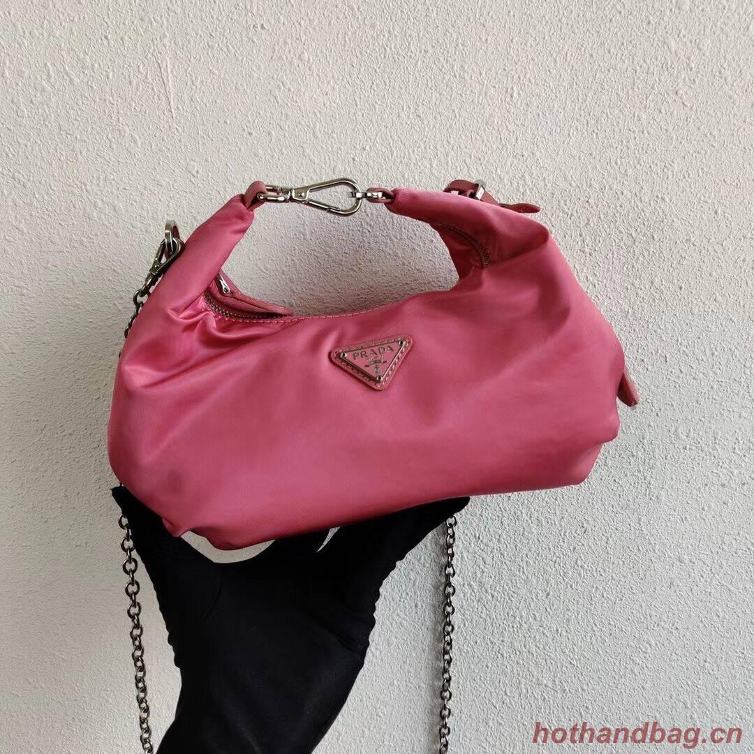 Prada Re-Edition 2005 nylon shoulder bag 1BH172 pink