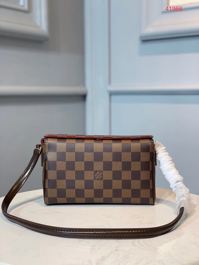 Louis vuitton original leather Damier Ebene Canvas M41966