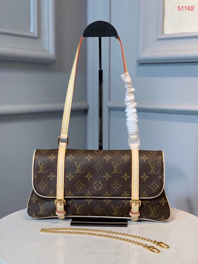 Louis vuitton original leather Monogram Canvas M51162