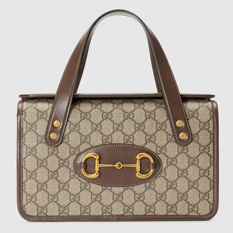 Gucci Horsebit 1955 small top handle bag 627323 Brown