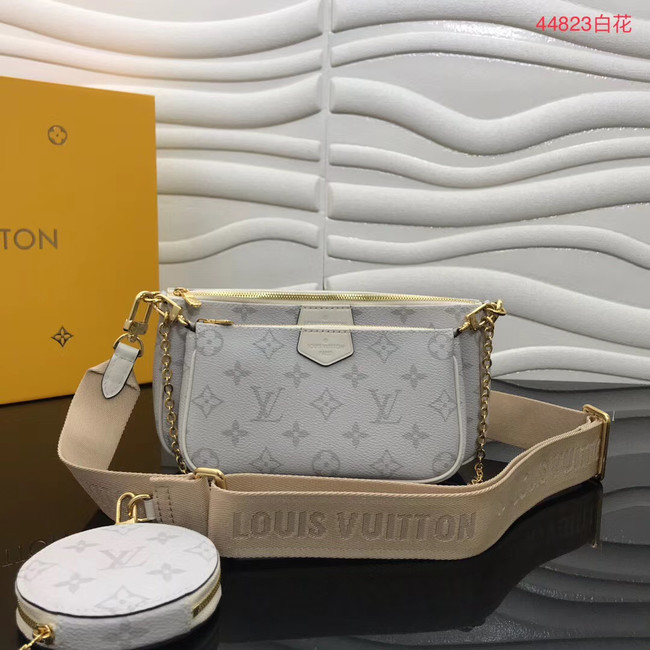 Louis Vuitton Original Monogram Canvas M44823 white