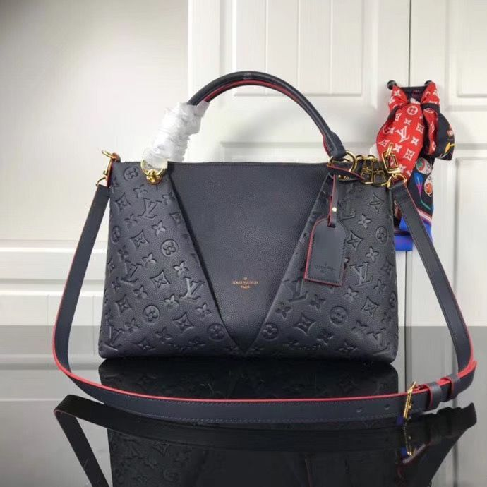 Louis vuitton original V TOTE BB M44397 Navy