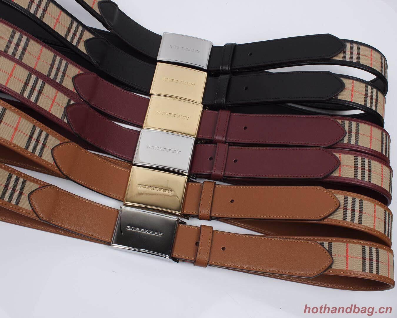 Burberry New Belts BU20398