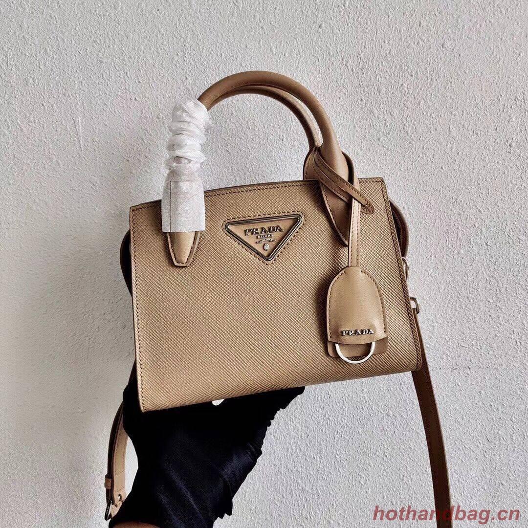 Prada Saffiano leather mini-bag 2BA269 apricot