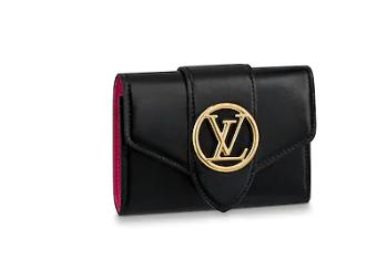 Louis Vuitton Original LV PONT 9 Wallet M69176 black