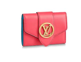 Louis Vuitton Original LV PONT 9 Wallet M69176 rose