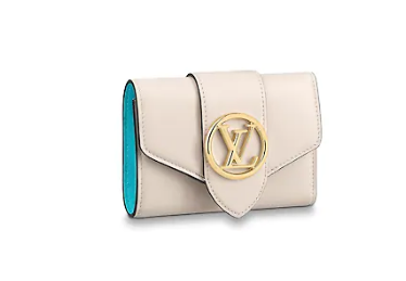 Louis Vuitton Original LV PONT 9 Wallet M69176 white