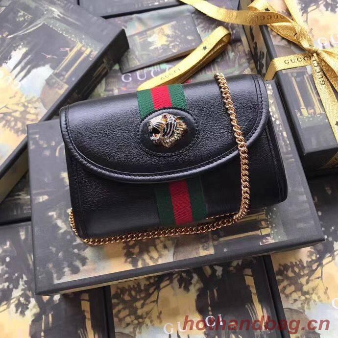 Gucci Rajah mini bag 573797 Black