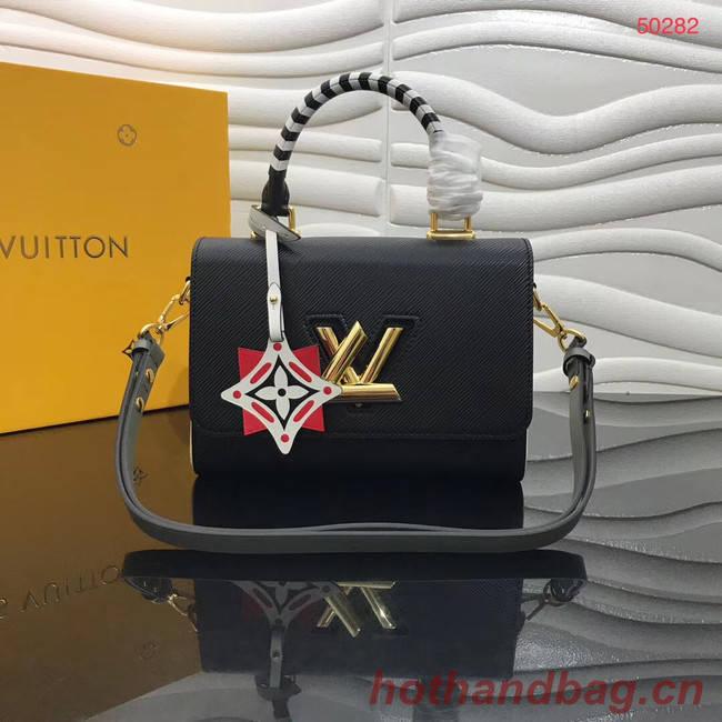 Louis vuitton original CRAFTY TWIST tote bag  M56780 black