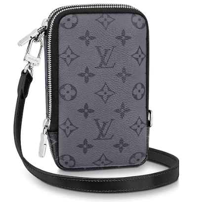 Louis vuitton original DOUBLE PHONE M69534 black