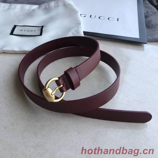 Gucci Original Calf Leather 20MM 3305-3