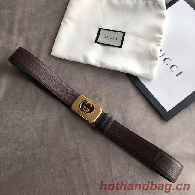Gucci Original Calf Leather 35MM 3306-2