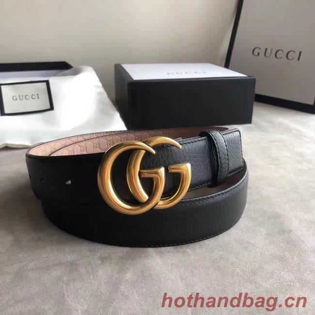 Gucci Original Calf Leather 35MM 3306-22