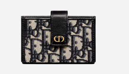 DIOR 30 MONTAIGNE 5-GUSSET CARD HOLDER S2058