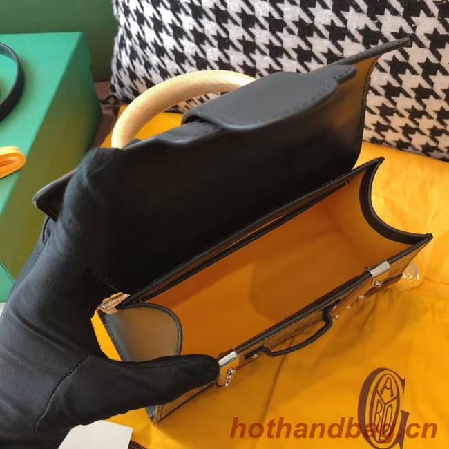 Goyard mini saigon tote bag 55632 black