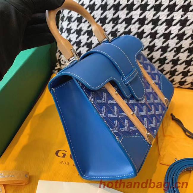 Goyard mini saigon tote bag 55632 blue