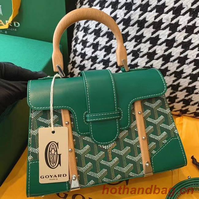 Goyard mini saigon tote bag 55632 green