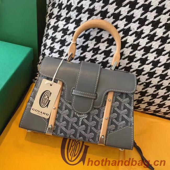Goyard mini saigon tote bag 55632 grey