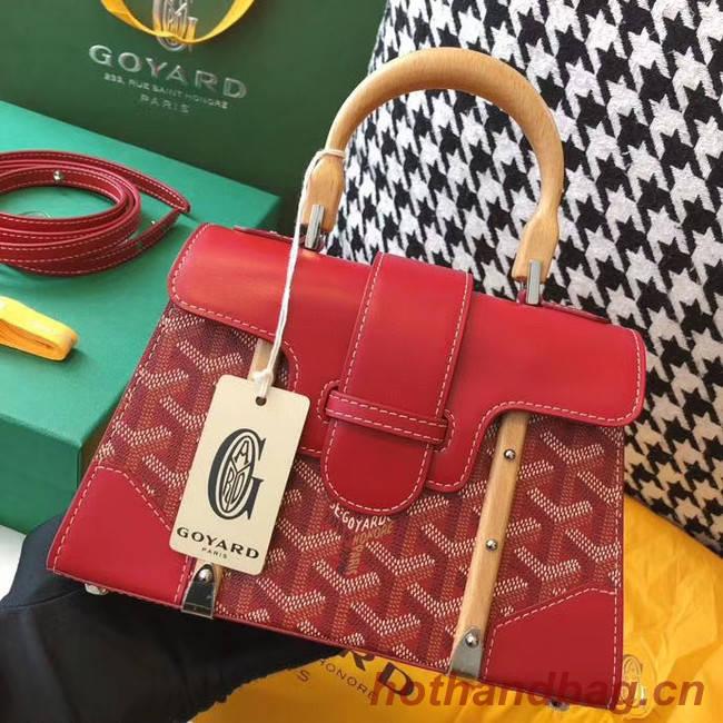 Goyard mini saigon tote bag 55632 red