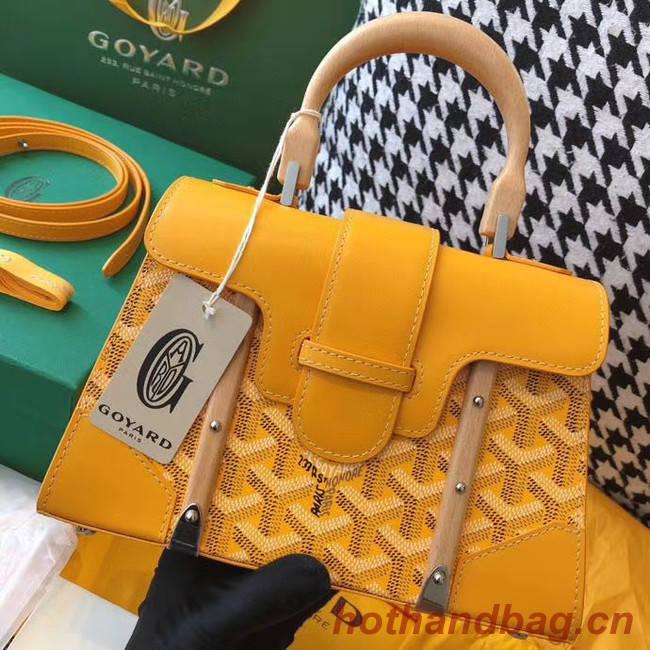 Goyard mini saigon tote bag 55632 yellow