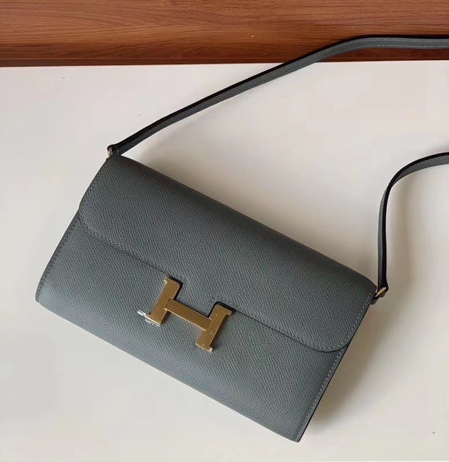 Hermes Constance to go mini Bag H4088 dark grey