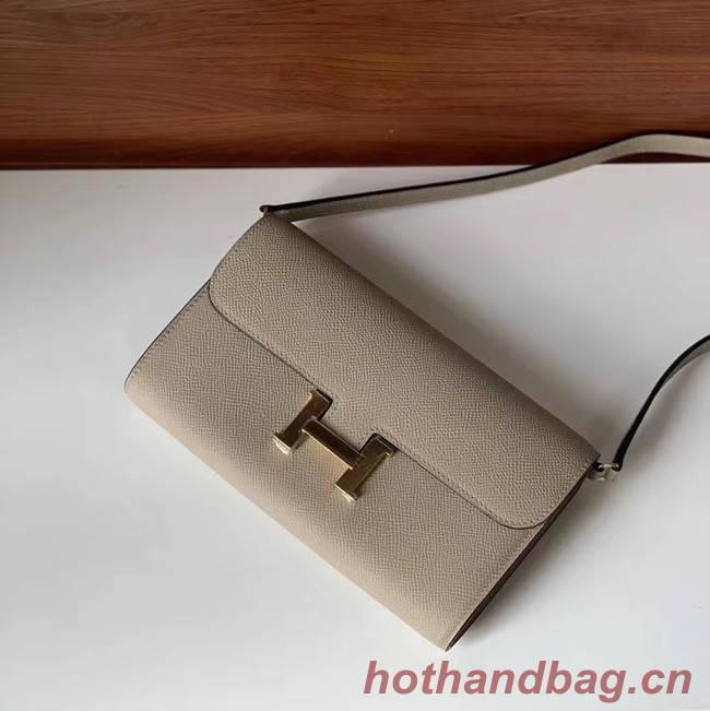 Hermes Constance to go mini Bag H4088 light grey