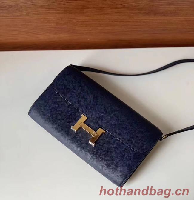 Hermes Constance to go mini Bag H4088 royal blue