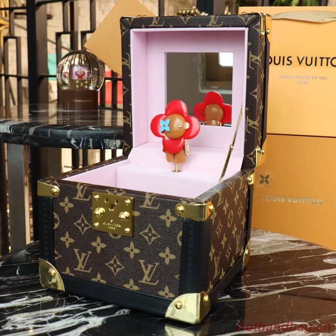 Louis Vuitton Monogram Canvas Music Jewelry Box M7896