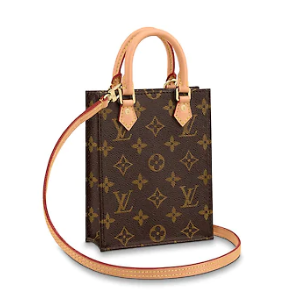 Louis Vuitton Original PETIT SAC PLAT Monogram Canvas M69442-2