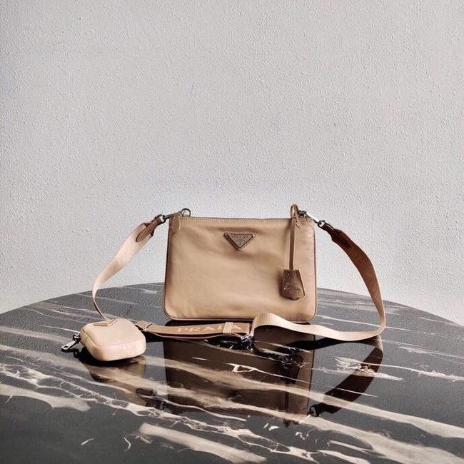 Prada Nylon Re-Edition 2000 Shoulder Bag 1BH046 apricot