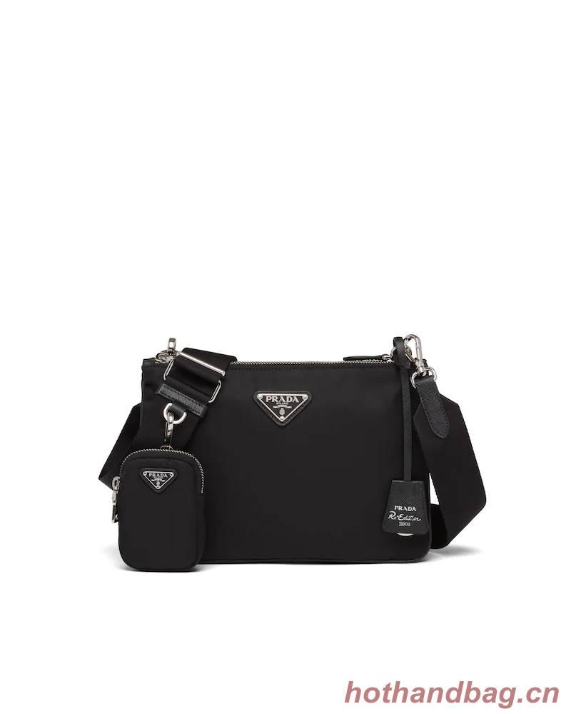 Prada Nylon Re-Edition 2000 Shoulder Bag 1BH046 black