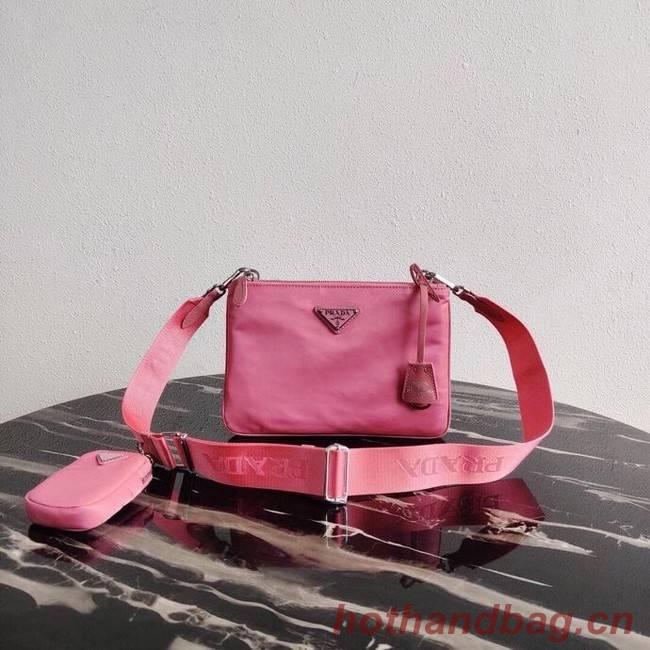 Prada Nylon Re-Edition 2000 Shoulder Bag 1BH046 pink