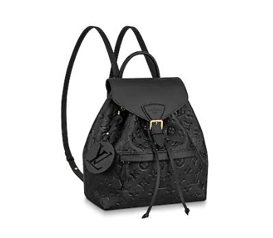 Louis vuitton original Montsouris Backpack M45205 black