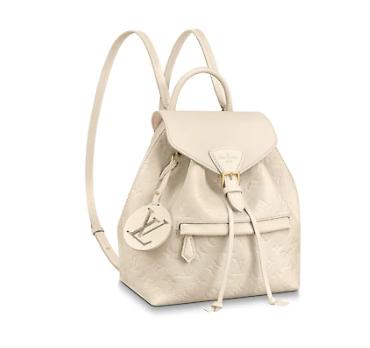 Louis vuitton original Montsouris Backpack M45205 white