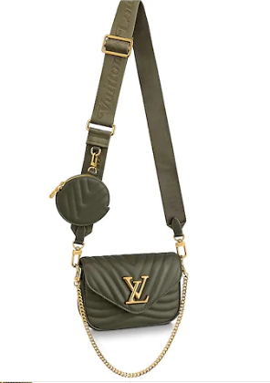 Louis Vuitton Original NEW WAVE MULTI-POCHETTE M56461 green