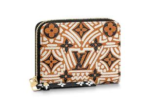 Louis Vuitton Original LV CRAFTY ZIPPY M69496 brown