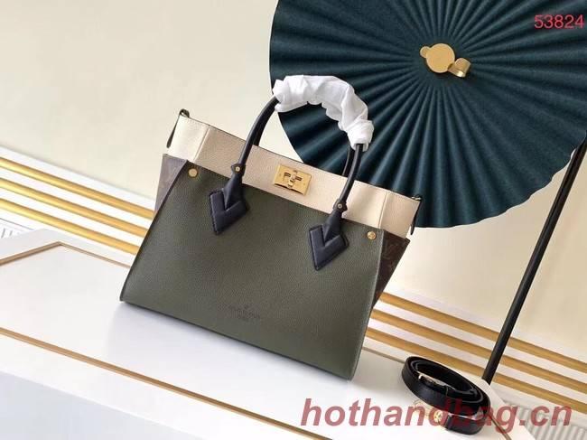 Louis Vuitton Original ON MY SIDE M53824 Khaki&black
