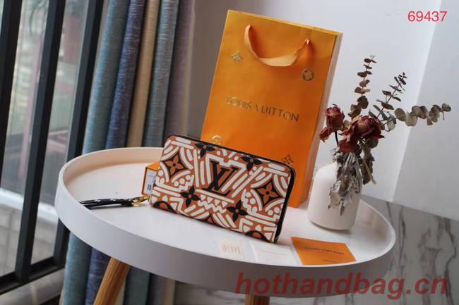 Louis Vuitton Original wallet M69437 brown