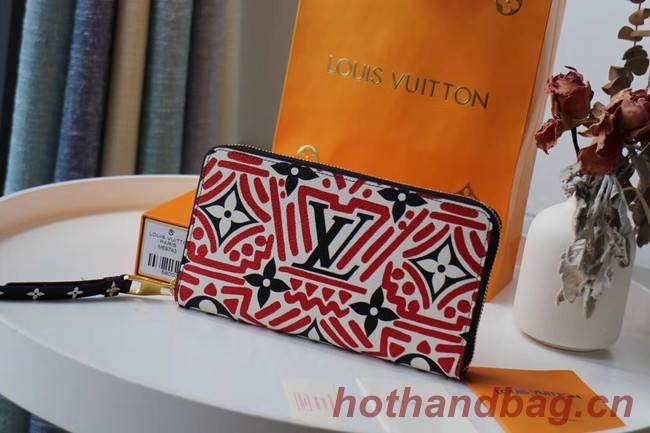Louis Vuitton Original wallet M69437 red