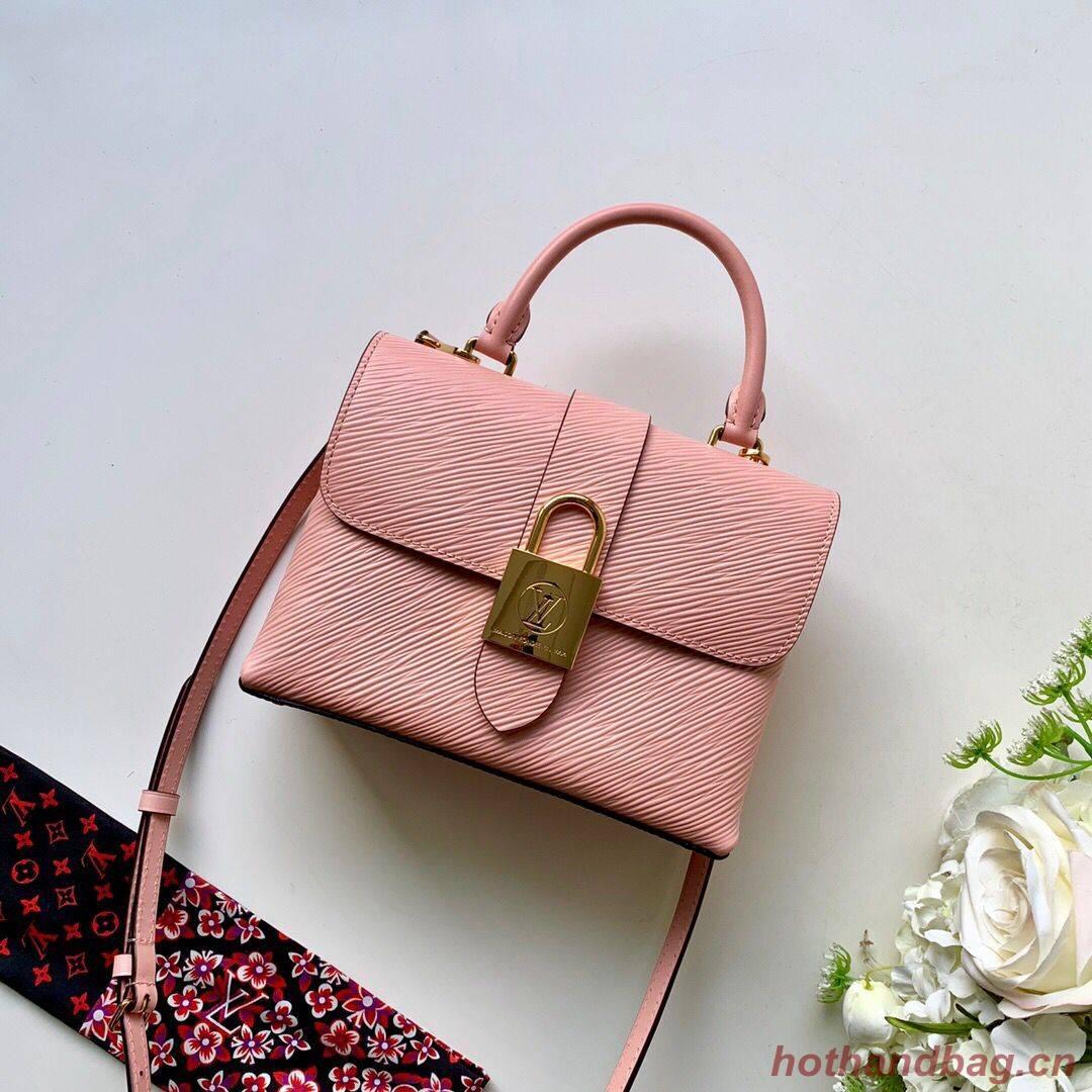 Louis Vuitton Epi Leather original LOCKY BB M44080 pink
