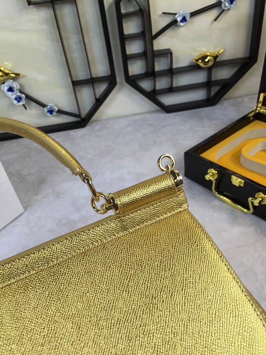 Dolce & Gabbana Origianl Leather 4136 gold