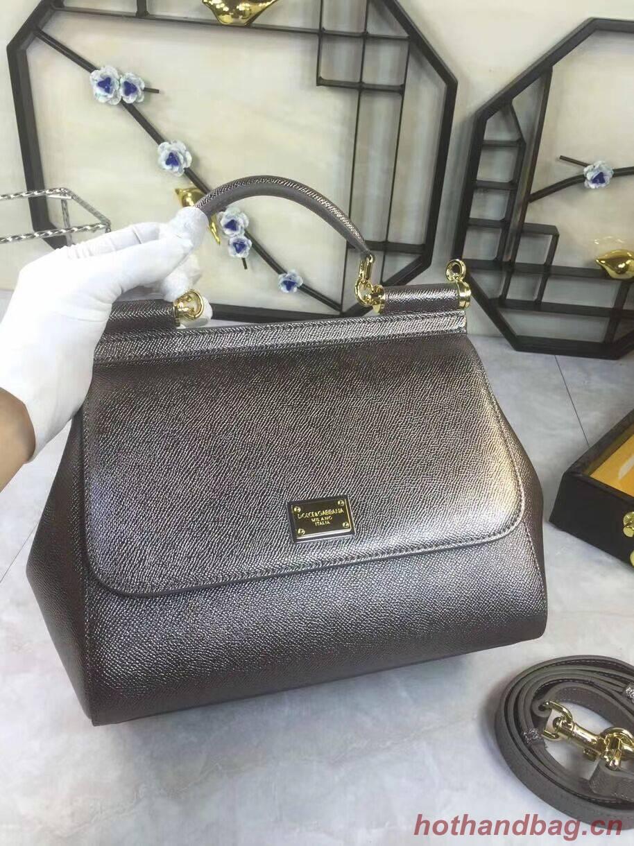 Dolce & Gabbana Origianl Leather 4136 silver grey