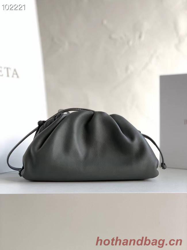 Bottega Veneta THE MINI POUCH 585852 dark grey