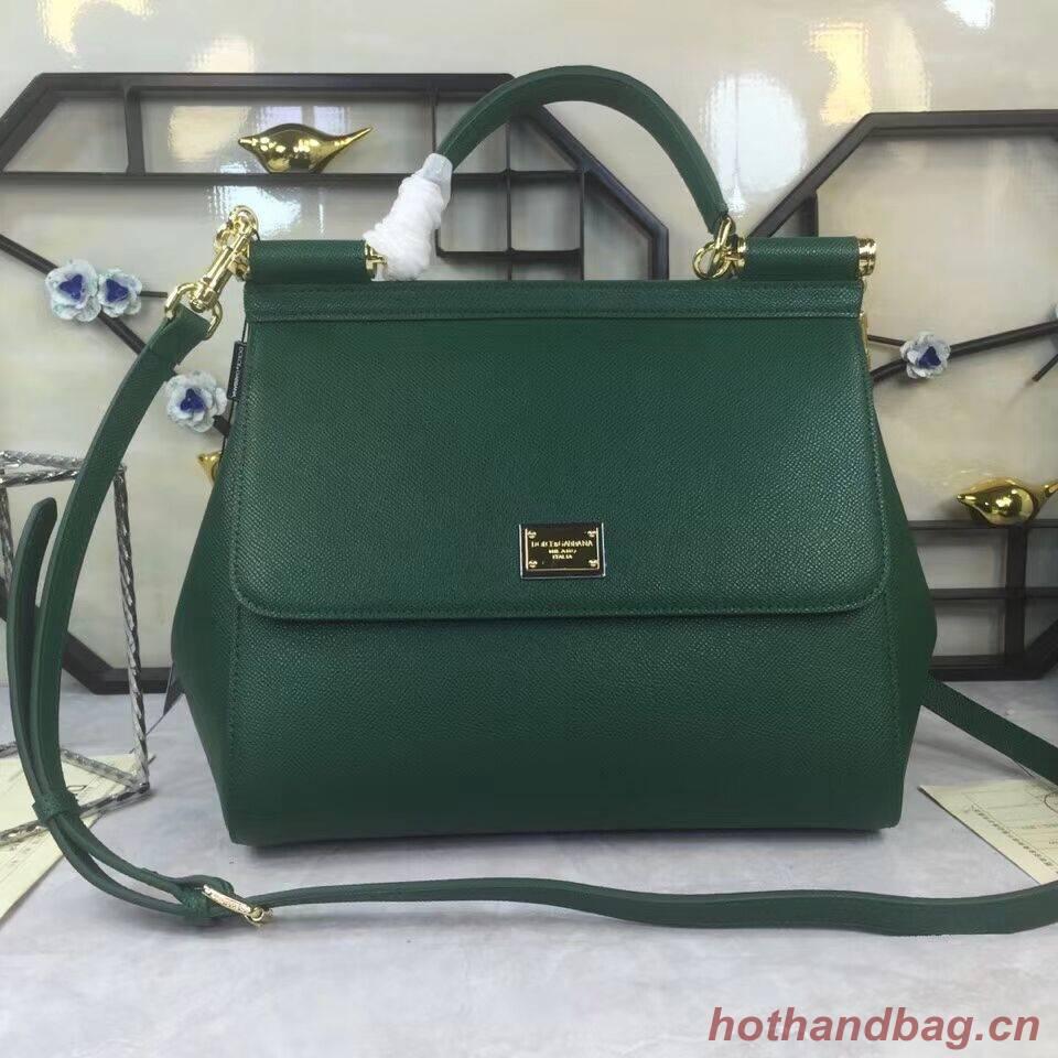 Dolce & Gabbana Origianl Leather 4138 Large blackish green