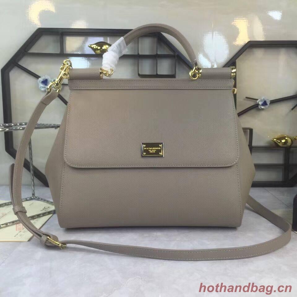 Dolce & Gabbana Origianl Leather 4138 Large grey