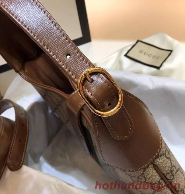 Gucci Jackie 1961 small hobo bag 636706 brown