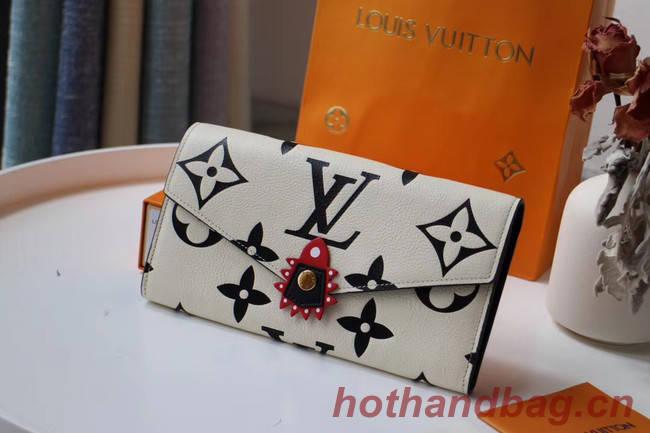 Louis Vuitton Original wallet M69514 white