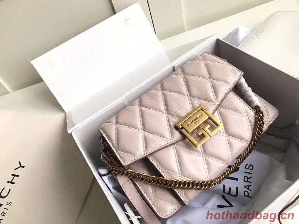 GIVENCHY Original Leather Shoulder Bag 6314 Beige
