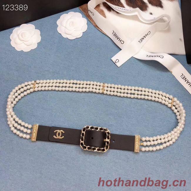 Chanel Original Calf Leather 3601 black